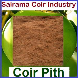 Manufacturer cum supplier of Coir pith - Sairama Coir Industry